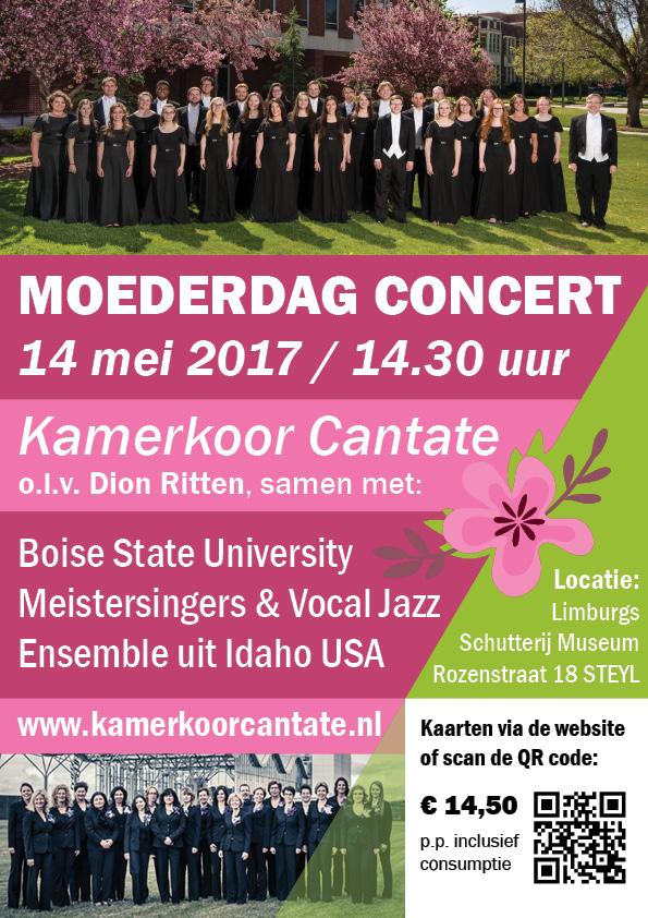 Poster Cantate Moederdagconcert17
